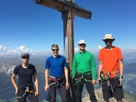 Klettersteig Piz Mitgel : Hg klettersteig piz mitgel 3158m alpenverein