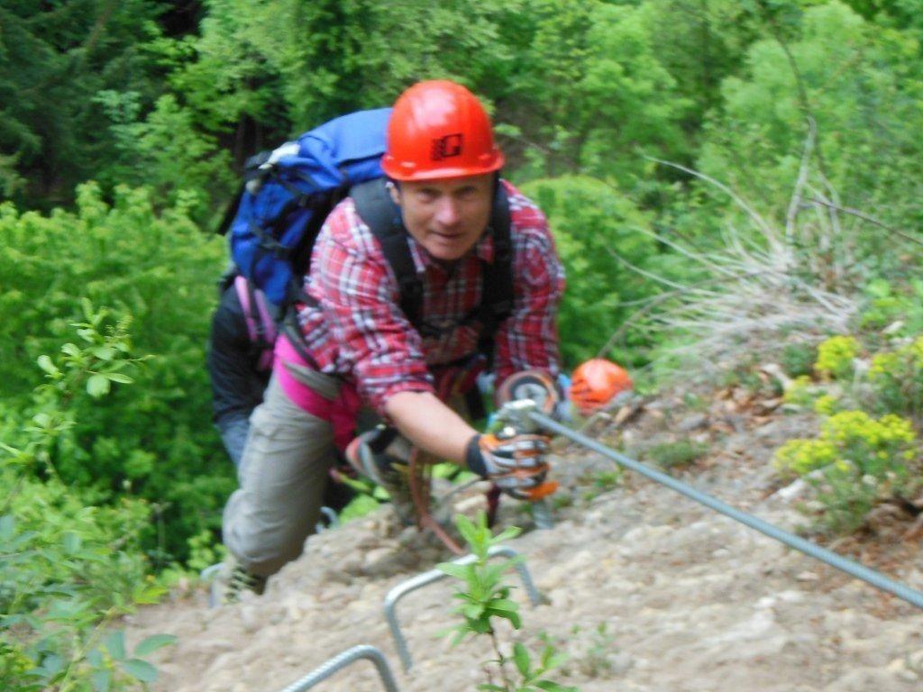 Kletterausrüstung Vorarlberg : Senioren wanderung känzelerundweg und klettersteig alpenverein