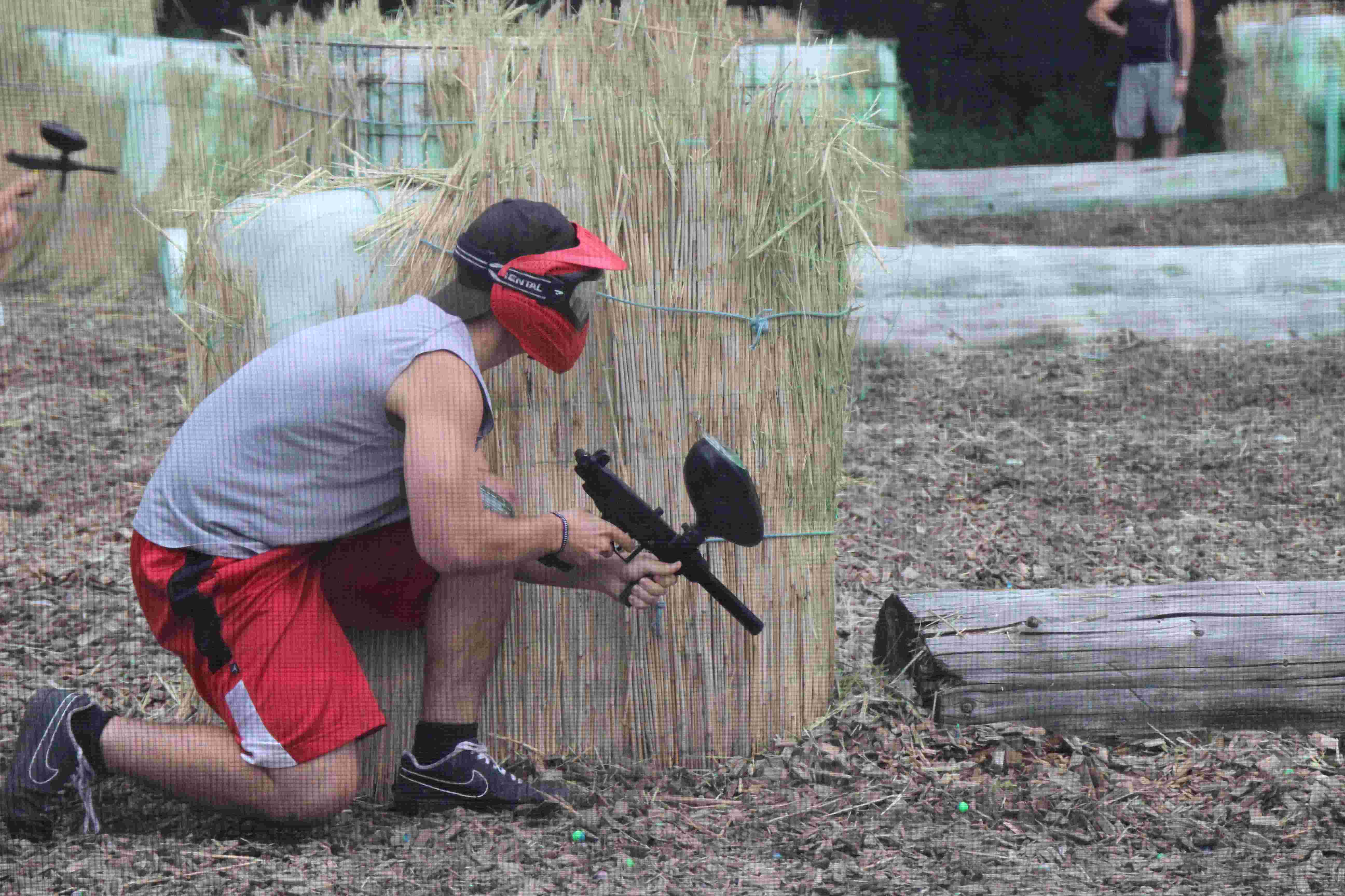 'Paintball und Spanferkel'