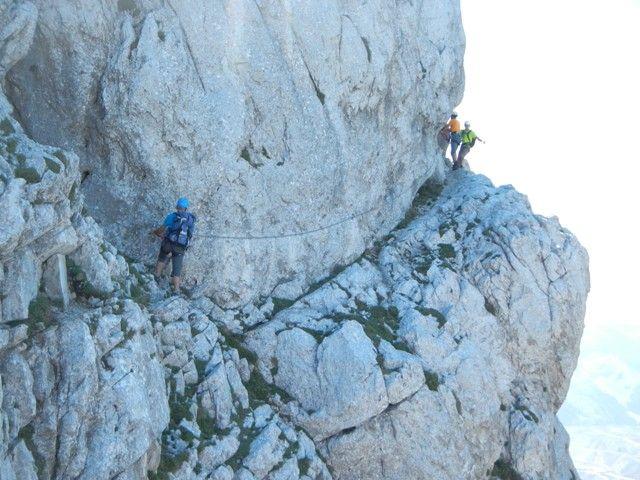 Eisenerzer Klettersteig : Eisenerzer klettersteig 19.08.2012 alpenverein
