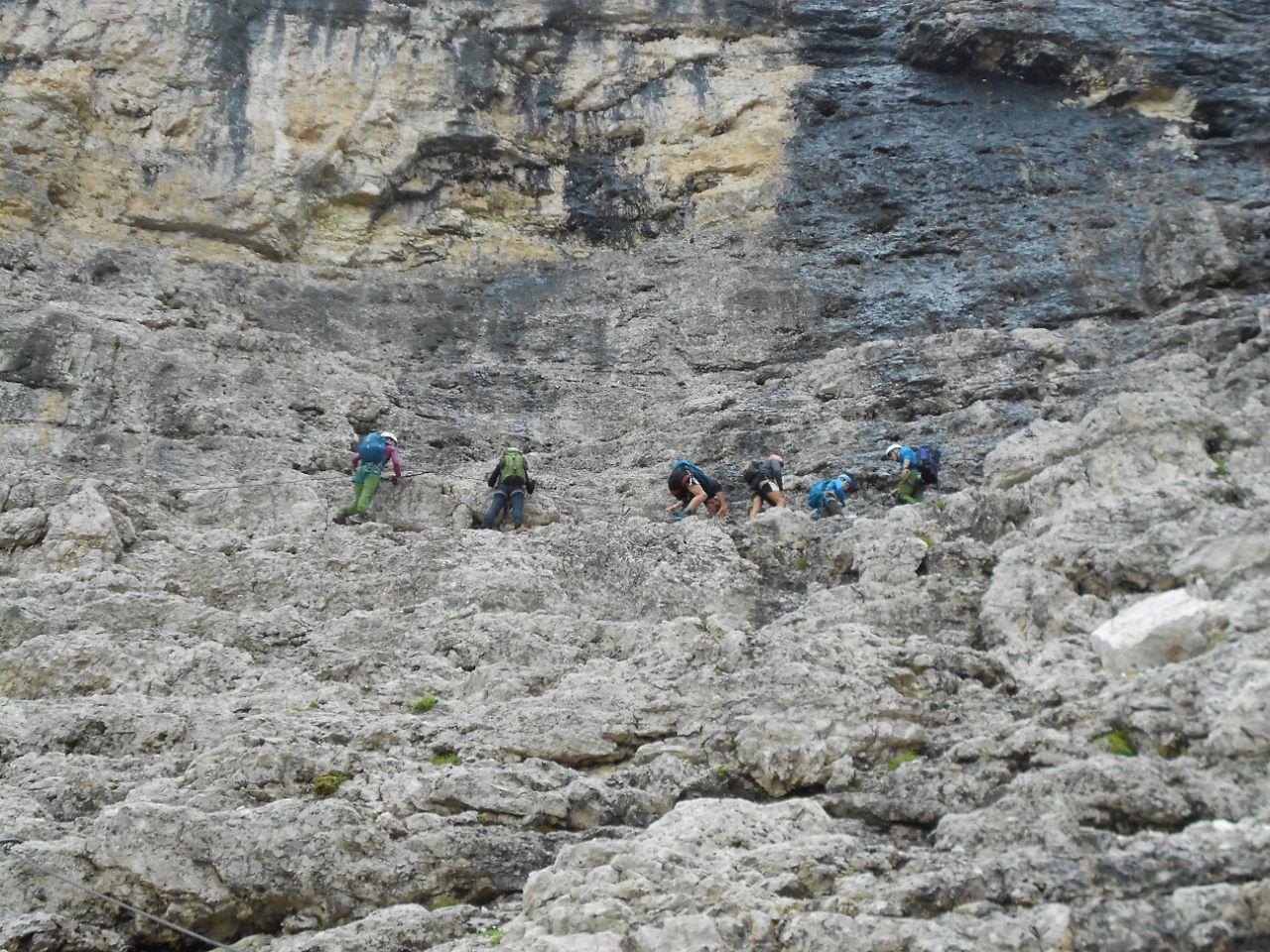 Vallon Klettersteig : Vallon sportklettern schutzhütte franz kostner am alta