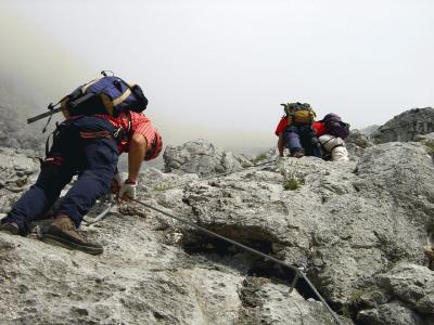 Klettersteig Hochthron : Klettersteig berchtesgadener hochthron alpenverein