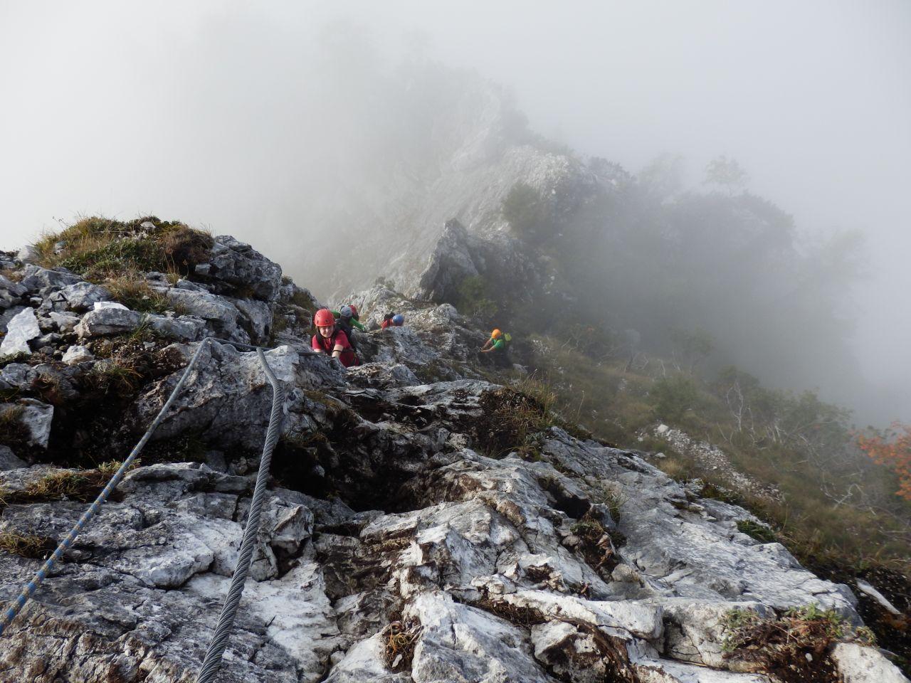 Klettersteig Mahdlgupf : Klettersteig mahdlgupf alpenverein