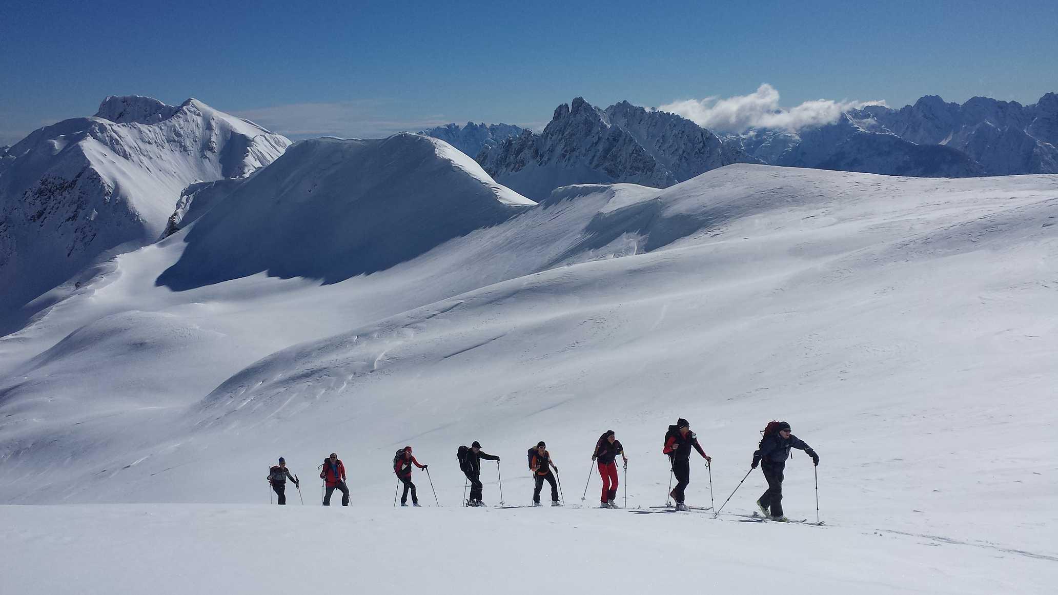 Genussschitourenwochenende Lesachtal Kartitsch Alpenverein