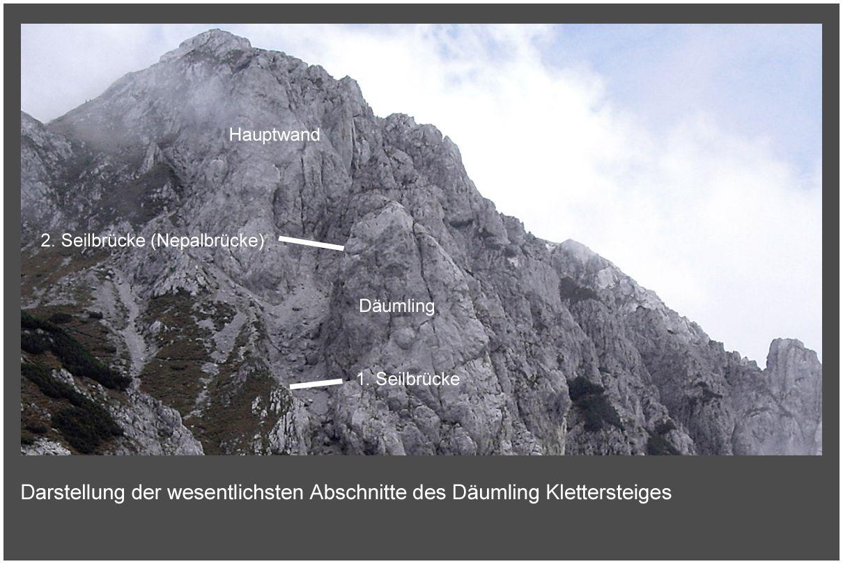 Klettersteig Däumling : Klettersteig däumling alpenverein