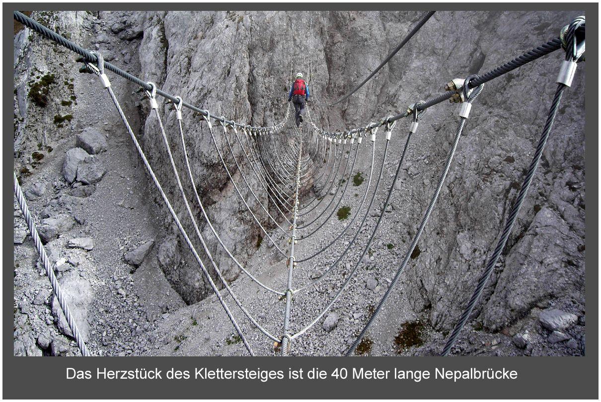Klettersteig Däumling : Klettersteig dÄumling nassfeld