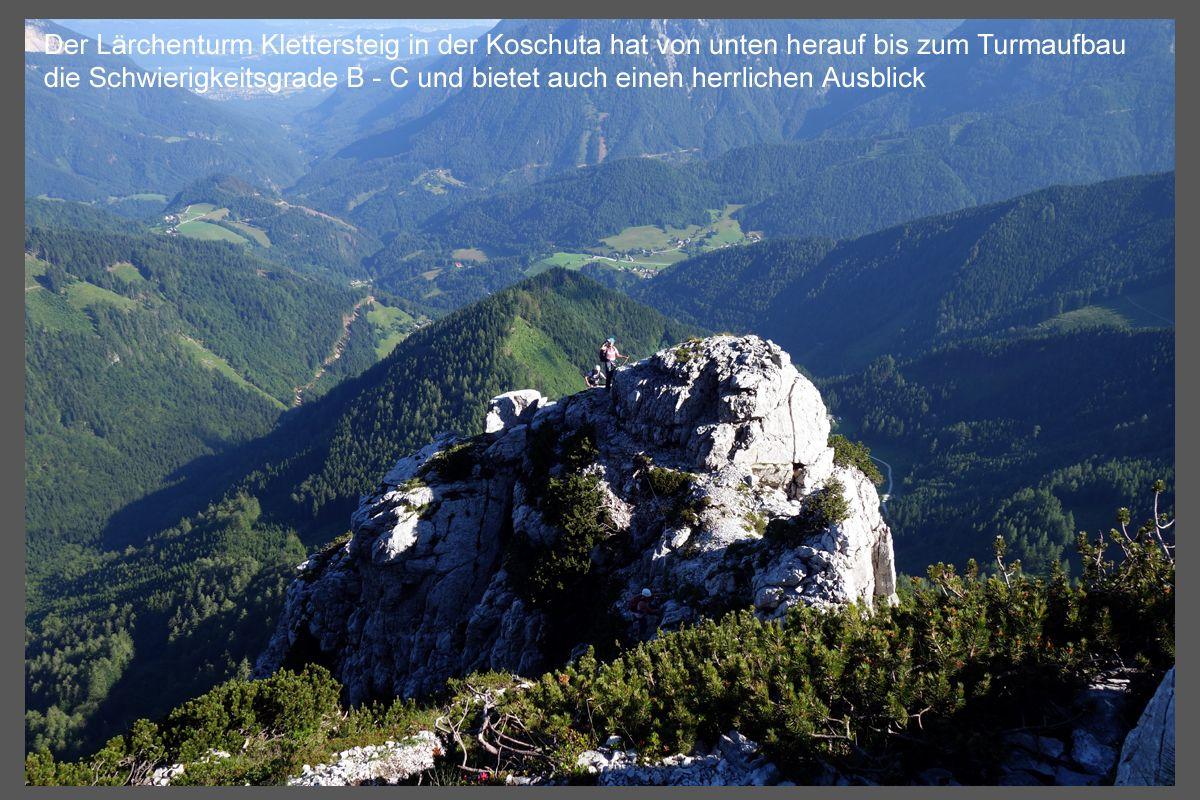 Klettersteig Lärchenturm : Klettersteig Ötk steig in kärnten