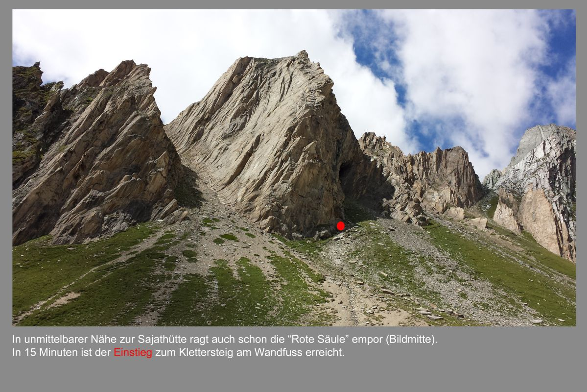 Klettersteig Osttirol : Klettersteig rote säule venedigergruppe osttirol alpenverein