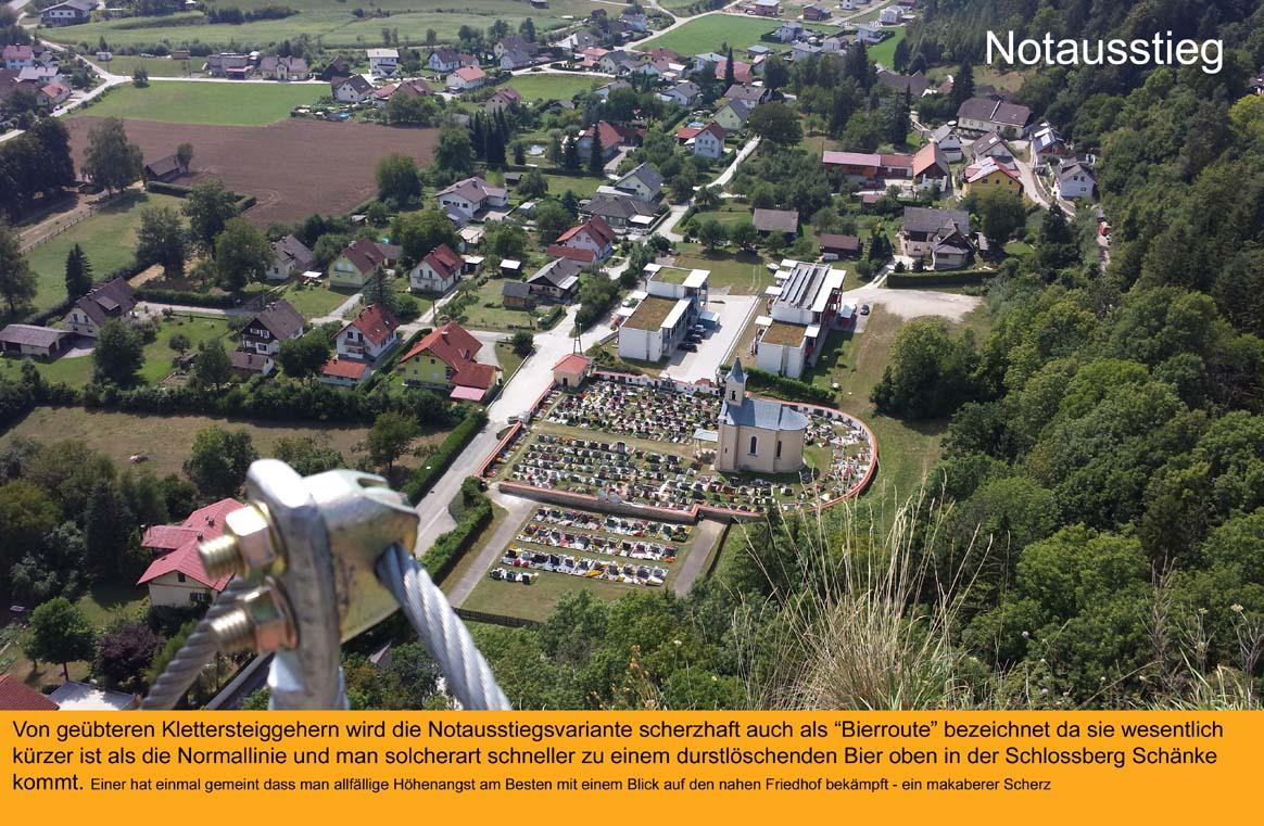 Klettersteig Griffen : Klettersteige in den bergsteigerdörfern